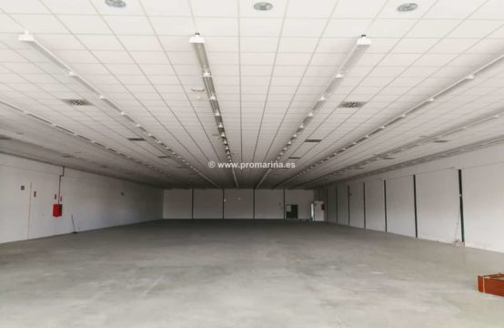 PRO1523A<br>Nave industrial en El Verger, 1300 m2 de superficie
