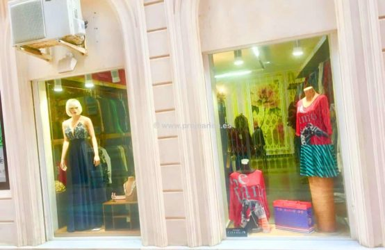 PRO1599A<br>Local comercial destinado a tienda de ropa en Denia