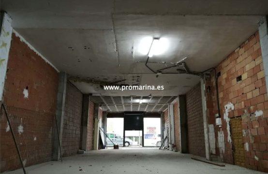 PRO1592A<br>Alquiler de Local en Denia para reformar, centrico y muy grande