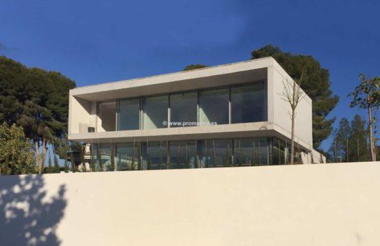 PRO1603<br>Villa moderna de diseño en venta con impresionantes vistas al mar