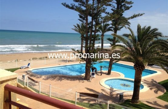 PRO1324<br>Venta Apartamento Primera Linea de Mar Denia