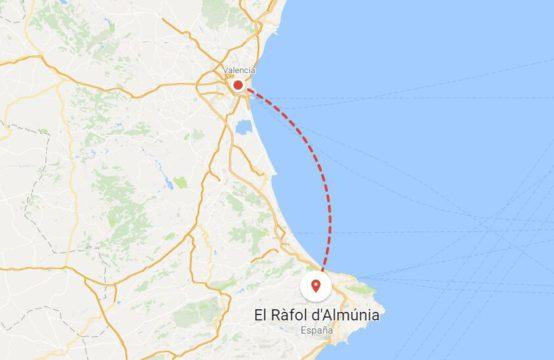 Plot in the Ràfol d&#8217&#x3B;Almúnia.